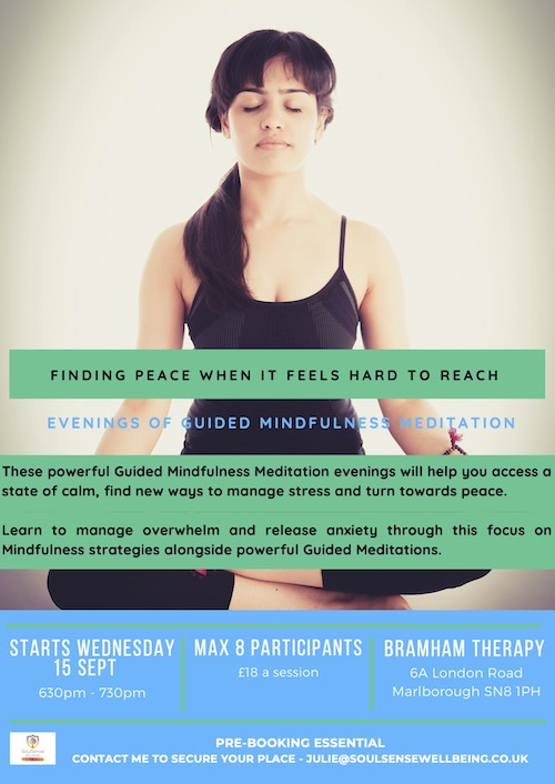 Mindfulness Evening poster